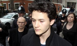 Charlie Gilmour admitted violent disorder during protests in central London