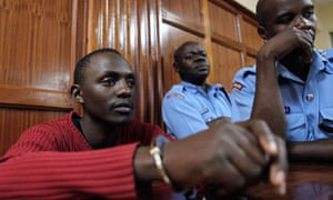 Elgiva Bwire Oliacha appears at the chief magistrates court in capital Nairobi