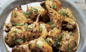 Hugh Fearnley-Whittingstall's chicken with rosemary and juniper recipe