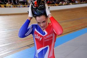 Pendleton: Euro track cycling champs