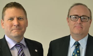 Patrick Shine & Simon McNeil Ritchie founders of Franchising Works