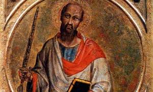 St Paul painting