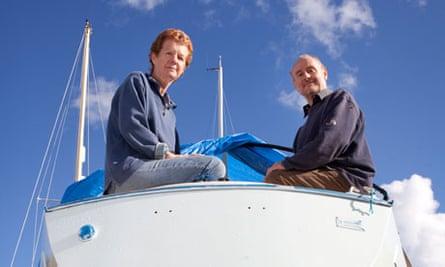 Paul & Rachel Chandler on their yacht the Lynn Rival.
