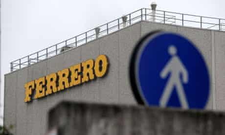 Ferrero factory