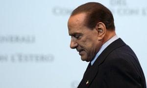 Italy's prime minister, Silvio Berlusconi