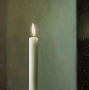 Gerhard Richter: Panorama: Candle 1982 by Gerhard Richter