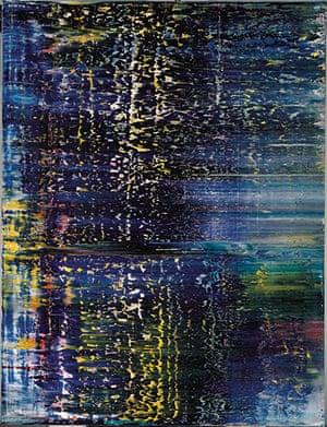 Gerhard Richter: Panorama: Wald (3) 1990 by Gerhard Richter