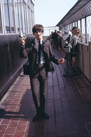 George Harrison book: George Harrison at the Empire State Building, 1963