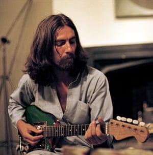 George Harrison book: George Harrison recording the Radha Krishna Temple album