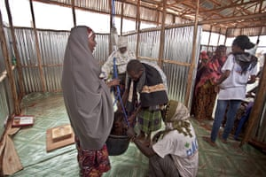 Dollo Ado refugee camps: in Kenya for diplaced from Ethiopia due to famine