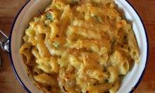 Simon Hopkinson and Lindsey Bareham recipe macaroni cheese