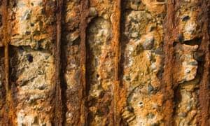 Erosion in coastal defences in Madeira