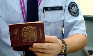Immigration officer, Heathrow airport.