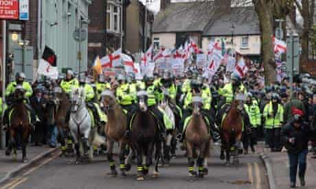 English Defence League Demonstrations