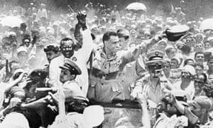 Sudan Prime Minister al-Azhari Visits Egyptian Premier Nasser