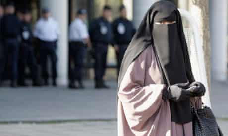 ***BESTPIX***First Muslim Women Fined For Wearing Niqabs Appear in Court