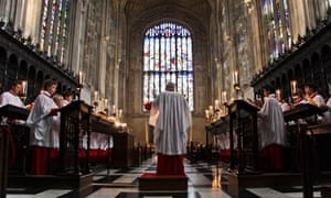 Easter at King's College Cambridge