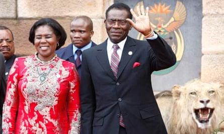 President Teodoro Obiang Nguema