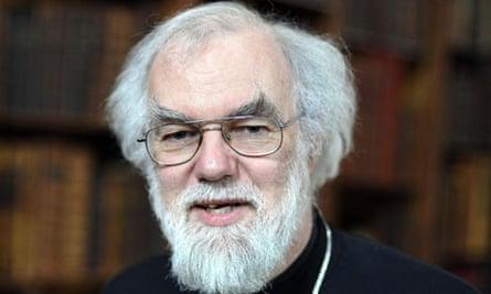Rowan Williams, the archbishop of Canterbury