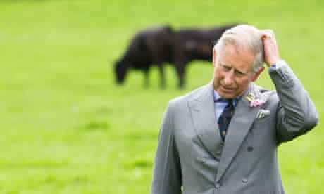 Prince Charles visits Duchy of Cornwall farmland