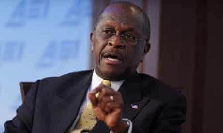 Herman Cain in Washington
