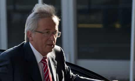 Luxembourg prime minister and Eurogroup president Jean-Claude Juncker
