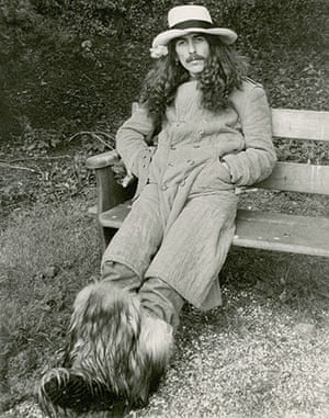 George Harrison: George Harrison, Friar Park, 1974 taken with his camera