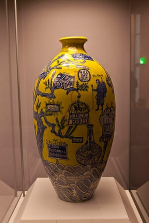 Grayson Perry: Grayson Perry, The Rosetta Vase, 2011 at British Museum