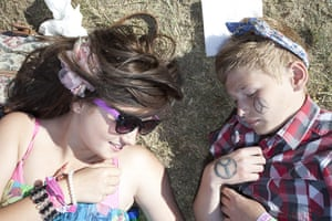UK Festivals Exhibition: Ella Jaques and Ronan Moore at Isle of Wight Festival, 2011