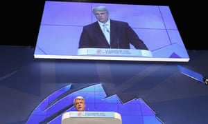 Andrew Lansley at Conservative Party Conference