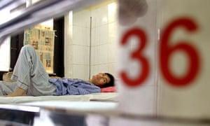 A Vietnamese HIV/AIDS patient, Hanoi 2004