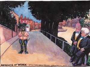 05.10.11: Steve Bell on the Tory crackdown on jobseekers