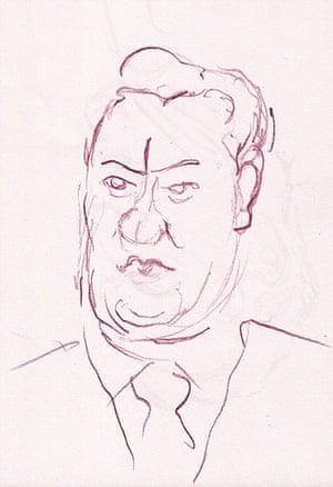 Steve Bell : George Osborne's Bum Nose is as bumlike as ever