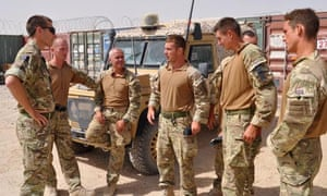 Geoff Withers in Afghanistan