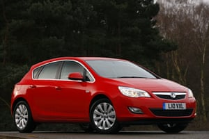 Top Ten Cars in the UK: The Vauxhall Astra