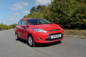 Top Ten Cars in the UK: The Ford Fiesta