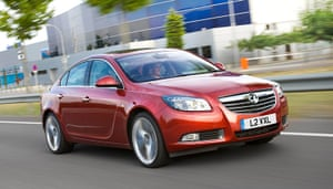 Top Ten Cars in the UK: The Vauxhall Insignia