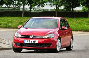 Top Ten Cars in the UK: The VW Golf