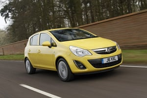 Top Ten Cars in the UK: The Vauxhall Corsa