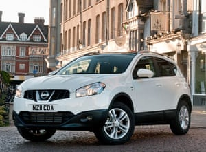 Top Ten Cars in the UK: The Nissan Qashqai