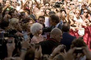 Spain's Duchess of Alba: Spain's Duchess of Alba and her husband Alfonso Diez