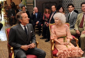 Spain's Duchess of Alba: Spain's Duchess of Alba and her husband Alfonso Diez are married