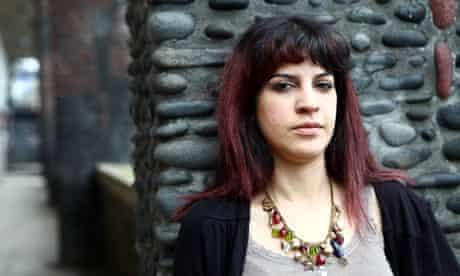 Tunisian writer and blogger Lina Ben Mhenni