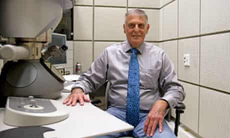 Chemistry Nobel prizewinner Daniel Shechtman