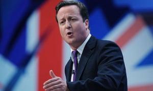 David Cameron's keynote conference speech