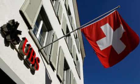 UBS branch in Switzerland