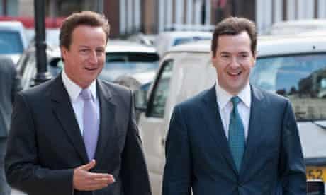 David Cameron and George Osborne