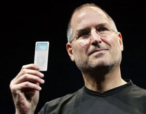 steve jobs dies: 7 September 2005: Steve Jobs introduces the iPod nano