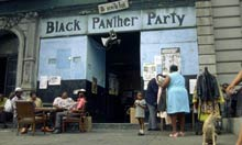 Black Panther Party store front
