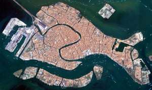 Satellite Eye on Earth: The islands that make up the Italian city of Venice